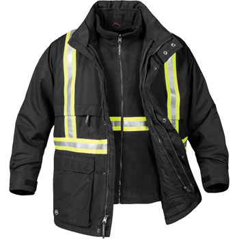 Men's Explorer 3-In-1 Reflective Jacket
