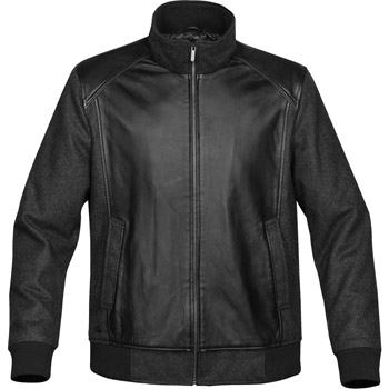 Men's Hudson Leather / Wool Jacket